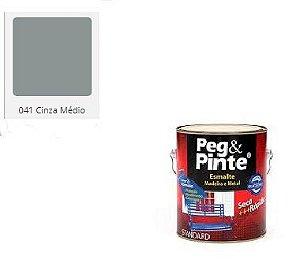 ESMALTE PEG & PINTE CINZA MEDIO 3,6 litros