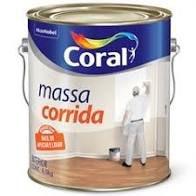 MASSA CORRIDA  CORAL 1,5 kg