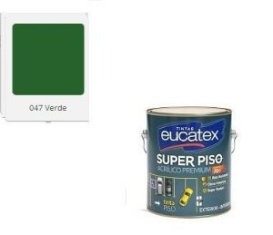 SUPER PISO EUCATEX ACRIL VERDE 3,6 lts