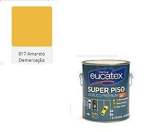 SUPER PISO EUCATEX AMARELO DEMARCAÇÃOL 3,6 lts