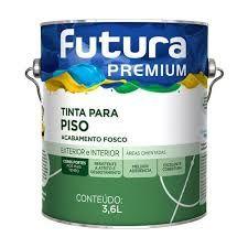 TINTA PARA PISO FUTURA 3,6 lts