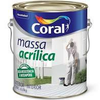 MASSA ACRÍLICA CORAL 6 kg