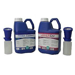 Kit Higiene para Ordenha (Pré, Pós Dipping e Aplicadores)