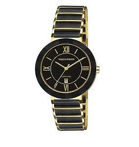 Relógio Technos Ceramic Dourado 2015CE/4P
