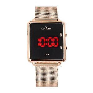 Relógio Digital em Led Rosé