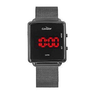 Relógio Digital em Led Preto