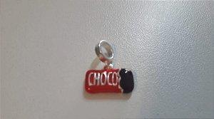 Berloque Prata 925 Chocolate