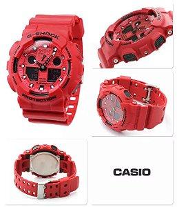 Relógio Casio G-Shock GA100C4ADRU