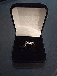 Anel LOVE Prata 925 - Aro 19