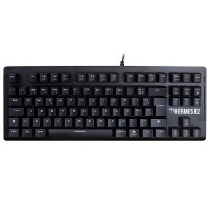 Teclado HERMES E2 Led White BR-BROWN Gamdias