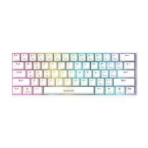 Teclado Gamer Gamdias Hermes E3 White SWITCH BROWN