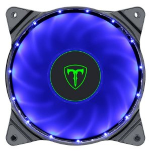 Cooler Fan Led Azul 120x120x25 12cm T-Dagger T-TGF300-B