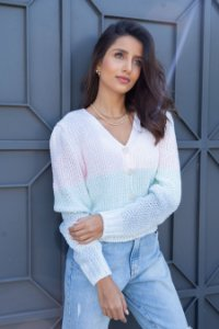 Cardigan candy color