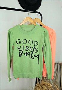 Moletom Good vibes