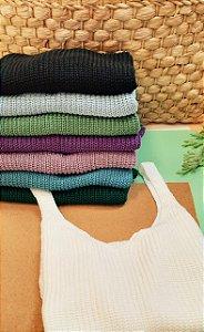Regata em tricot