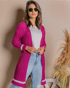 Maxi CARDIGAN de trico