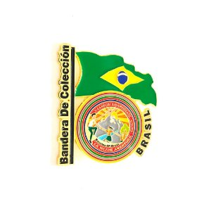Pin, DSA Bandera de Colección, Brasil