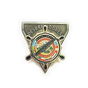 Pin DSA 2019, Bússola, alfa-omega, Desbravadores