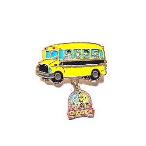 Pin, Ônibus, com pingente do Chosen