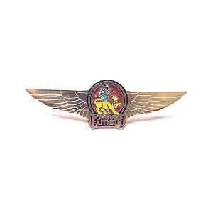 Pin Forever Faithful, logo com asas