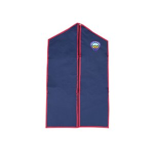 Porta uniforme, Azul com bordas vermelhas e emblema A1