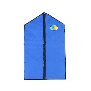 Porta Uniforme, Azul com emblema JA