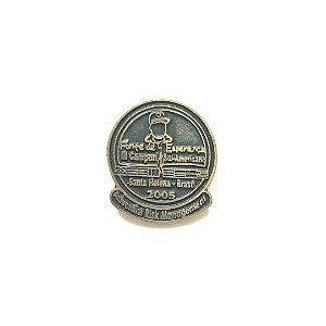 Pin, DSA 2005, Adventist Risk Management, Dourado envelhecido