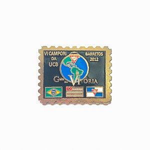 Pin, Grito da Vitória, Bandeiras, Brasil, São Paulo e DBV