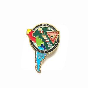 Pin, II feira de coleccionistas Peruanos, Mapa