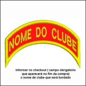 TIRA DE NOME DE CLUBE BORDADO DBV