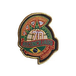 TRUNFOS/PACH'S COMEMORATIVO 70 ANOS DESBRAVADORES, 4 LOGOS DBV
