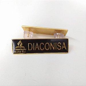 Tira de cargo metal, Diáconisa Dourado, Associação Bahia sul
