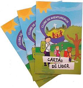 Cartão de líder Aventureiros