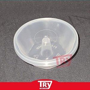 Forma Forneável para Pudim c/  Tampa 120 ml (50 unidades)