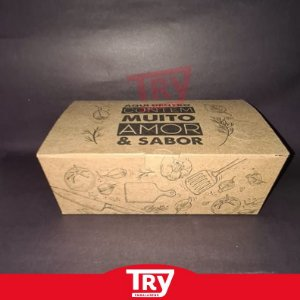 Caixa Box Multiuso P/ Porções Em Geral Grande 1700ml (25un)