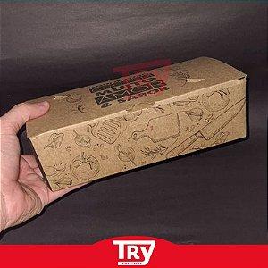 Caixa Box Multiuso P/ Porções Em Geral Grande Com Berço 50un