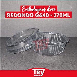 Embalagem Doce Redondo G 640 - 170ml (100 UNIDADES)