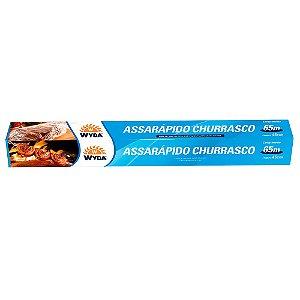 ASSARÁPIDO CHURRASCO 45CMx65M - 9 UNIDADES