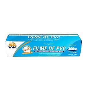 ROLO DE FILME PVC DE 28CMx300M - 1 UNIDADE