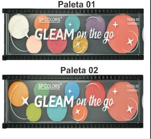 Paletas de Sombra Gleam Onf The Go - SP COLORS