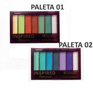 Paleta de Sombras Inspired Forever - SP Colors