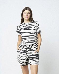 Shorts Lafort Laura Moletom