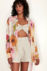 CAMISA FLORAL OFF WHITE