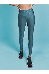 Calça Legging Com Recorte Texture