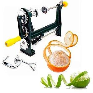 Descascador Laranja E Limão Manual Máquina Fruta Cítrica