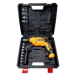 Furadeira de Impacto 720W 1/2 Maleta 28 Acessórios  SA Tools
