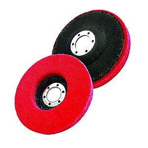 Disco Para Polimento Inox 115mm 4 1/2 Lotus - 3255