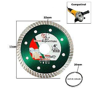 Disco Corte Diamantado para Esmerilhadeira ou serra Mármore