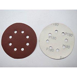 Disco De Lixa Com Aderência Grao 180 125mm 5x1 738089 Mtx