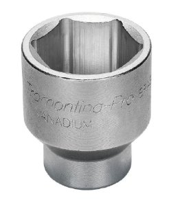 Soquete Sextavado Cr-V  1/2X34mm 44831/134 Tramontina Pro.